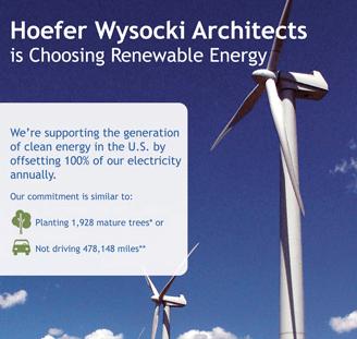 HWA Supports Renewable Energy