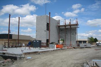 Olathe Police Building Expansion Construction Progress