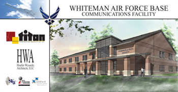 JE Dunn + Hoefer Wysocki Architecture Awarded Whiteman Air Force Base Medical Clinic