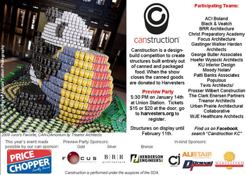 Join Us for the CANstruction Preview Party at Union Station!