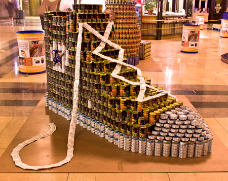 Hoefer Wysocki Architects Participates in Canstruction