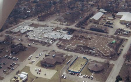 Community Memorial Hospital Construction in Progress