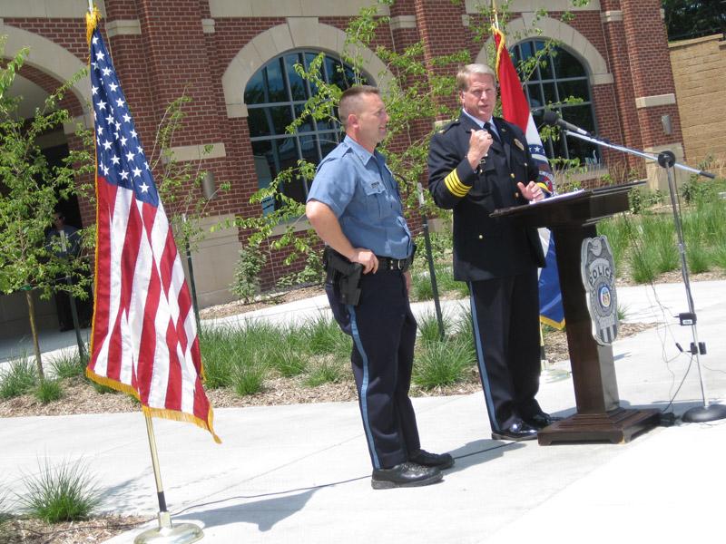 Spring Hill Police Station Dedication