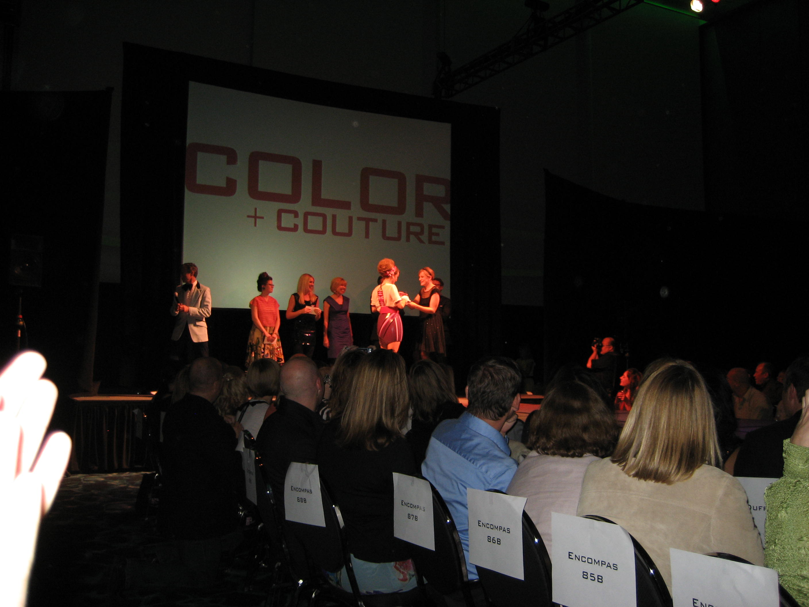HWA brings home 2 awards from the IIDA Color+Couture Fashion Show