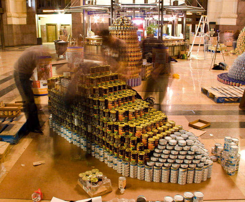 HWA's 2010 CANstruction Structure