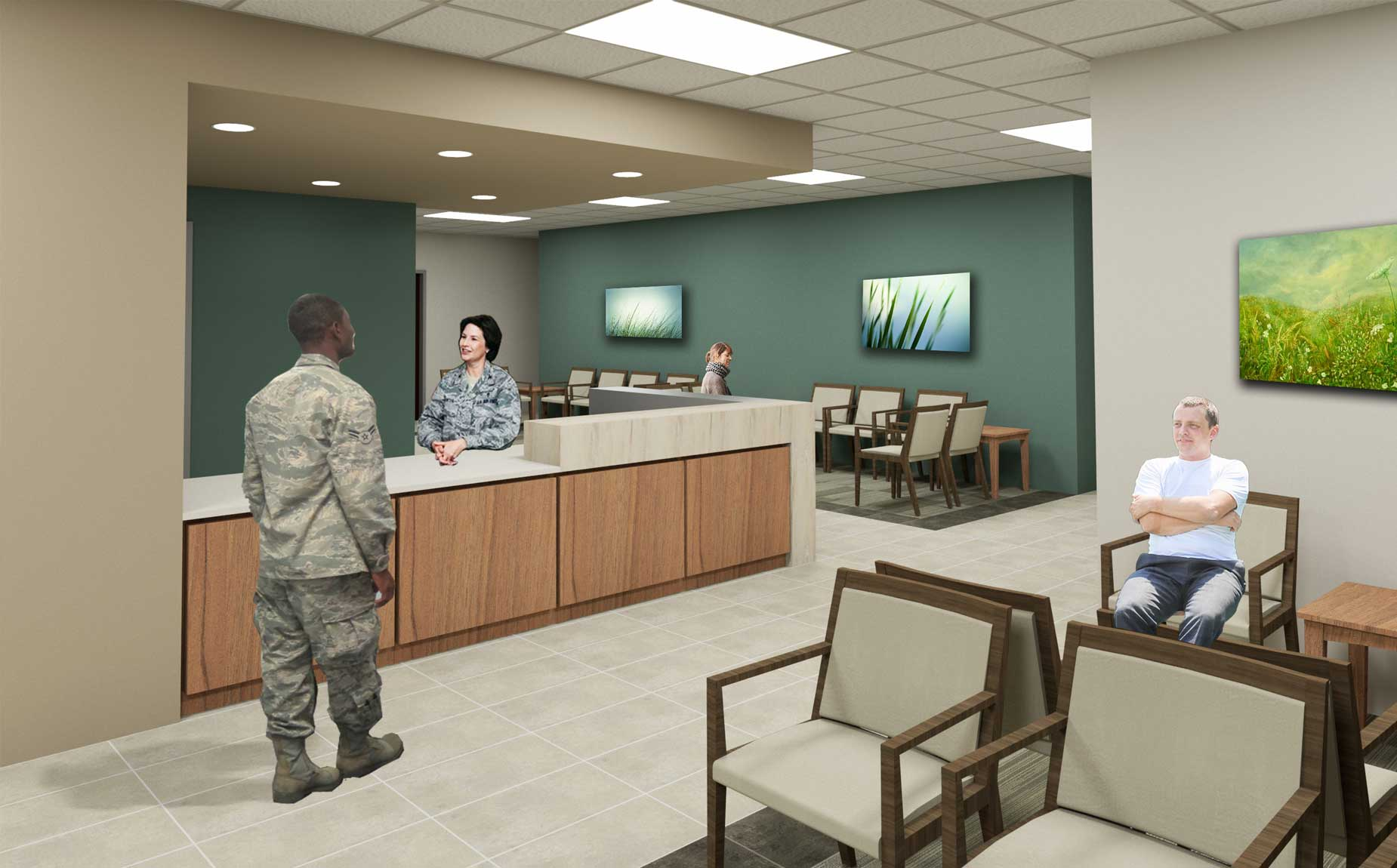 Hoefer Wysocki is Awarded Lackland Reid Clinic Project
