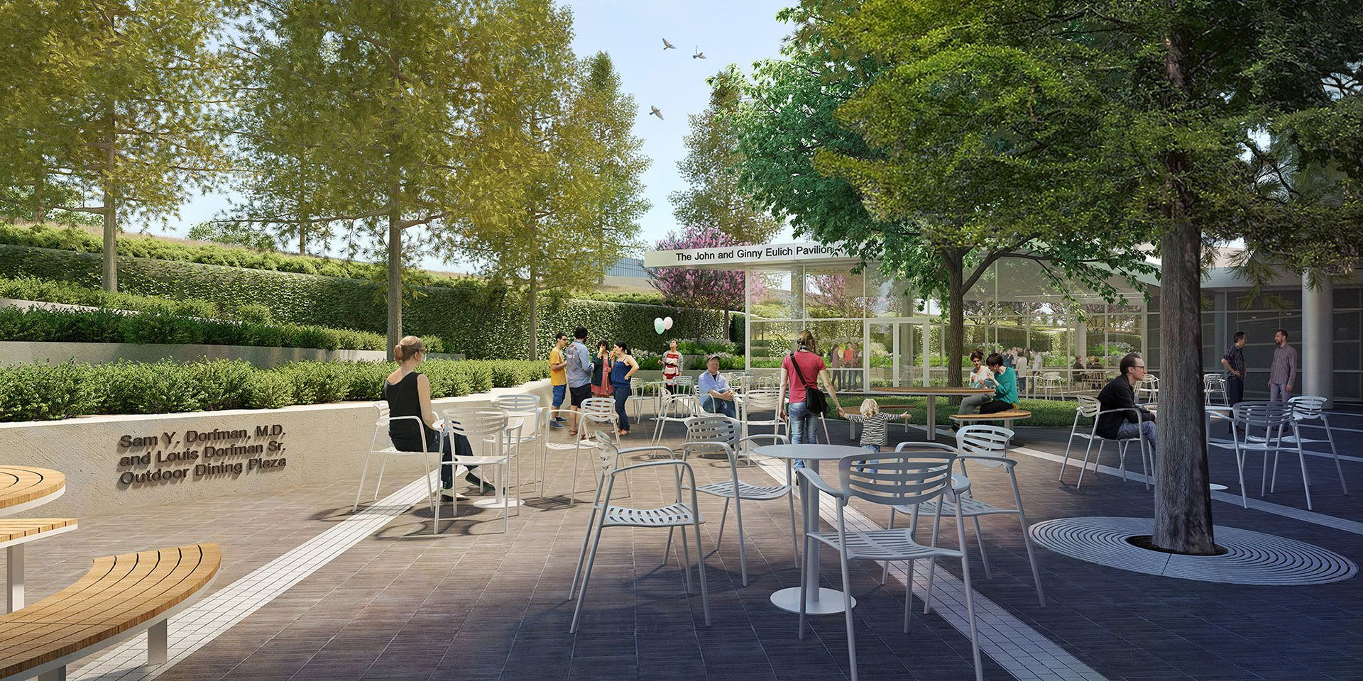 UTSW Courtyard
