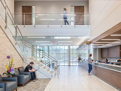 Hoefer Wysocki Completes Design of Saint Luke's Multispecialty Clinic