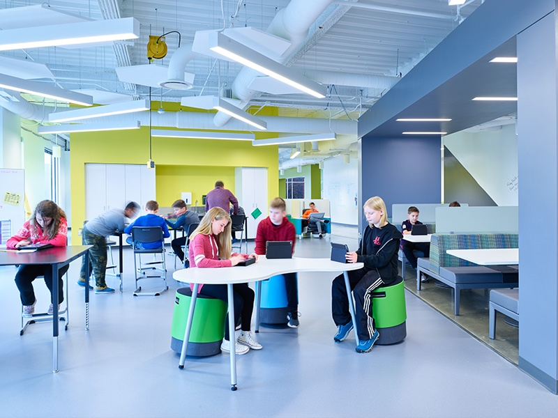 Institutional Innovation: The classroom of the future for all types of students