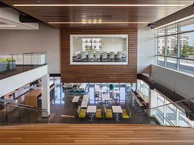 A Tour of SelectQuote's Elegant Overland Park Office