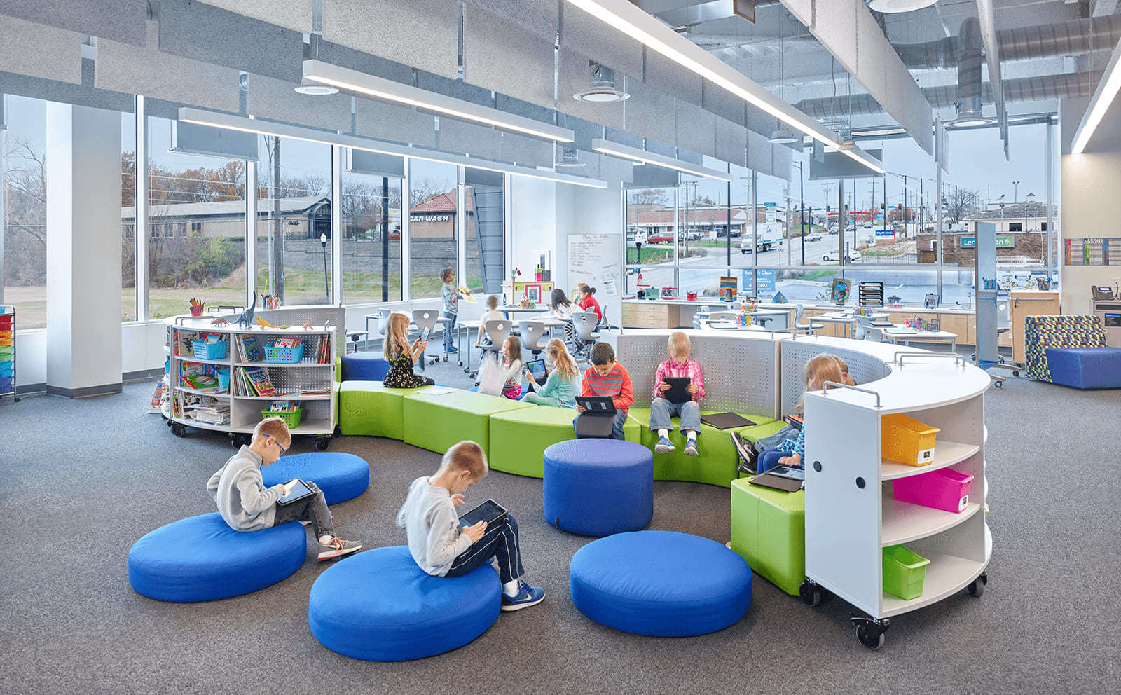 SAGE Interior Reading Room
