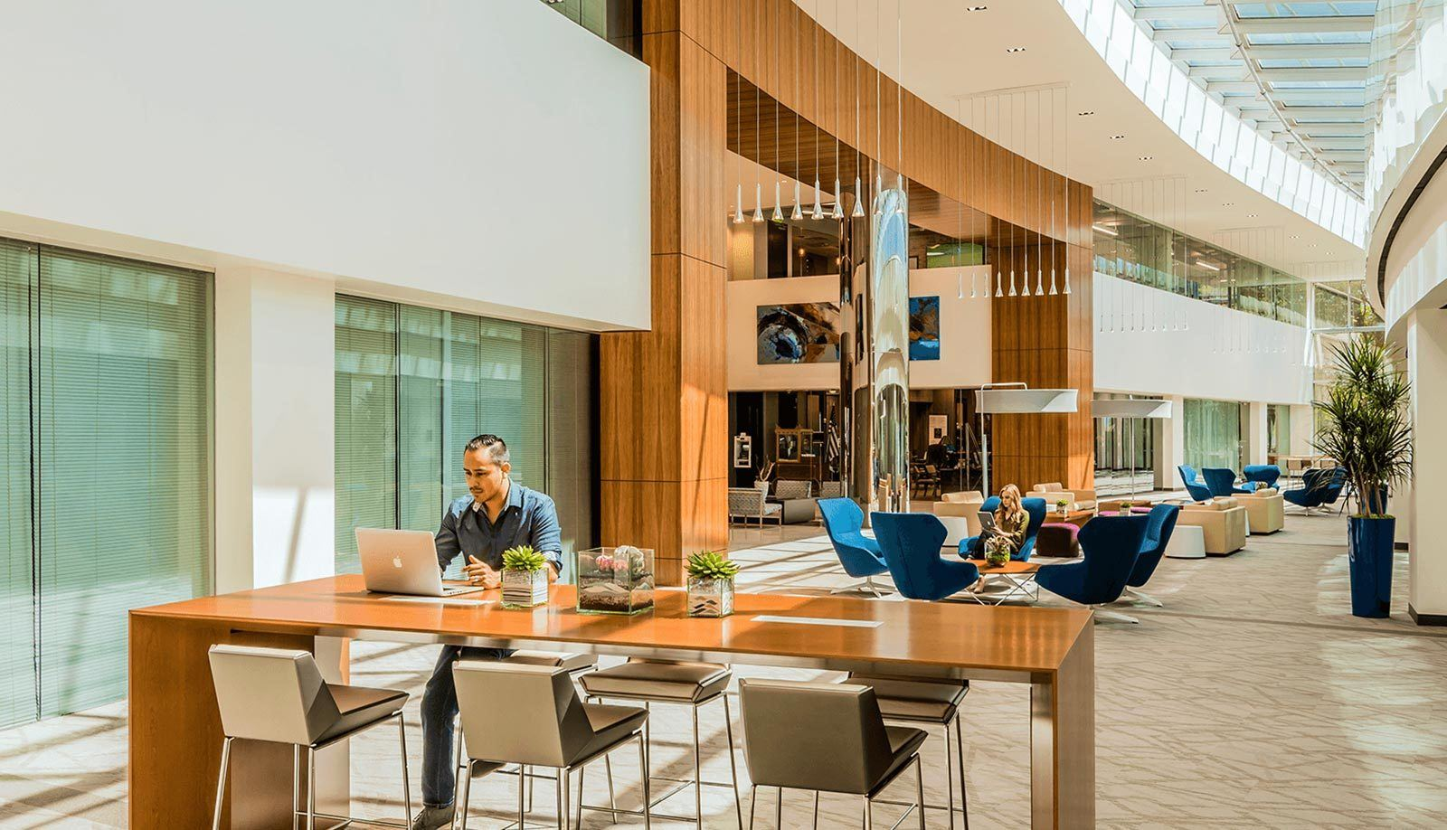Preston Lobby Interior