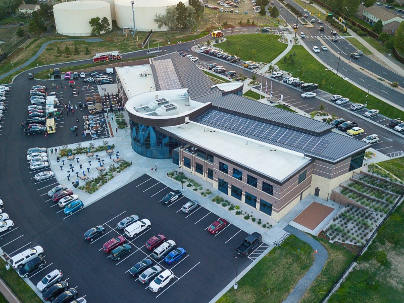 Facility Designed with Green and Smart Technologies