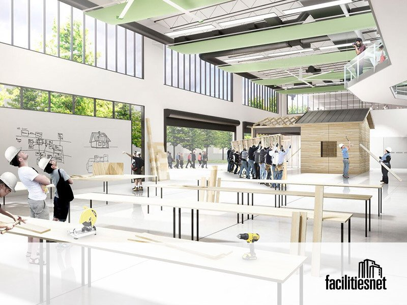 Higher Education Facilities Embrace Student Collaboration, Skills Training