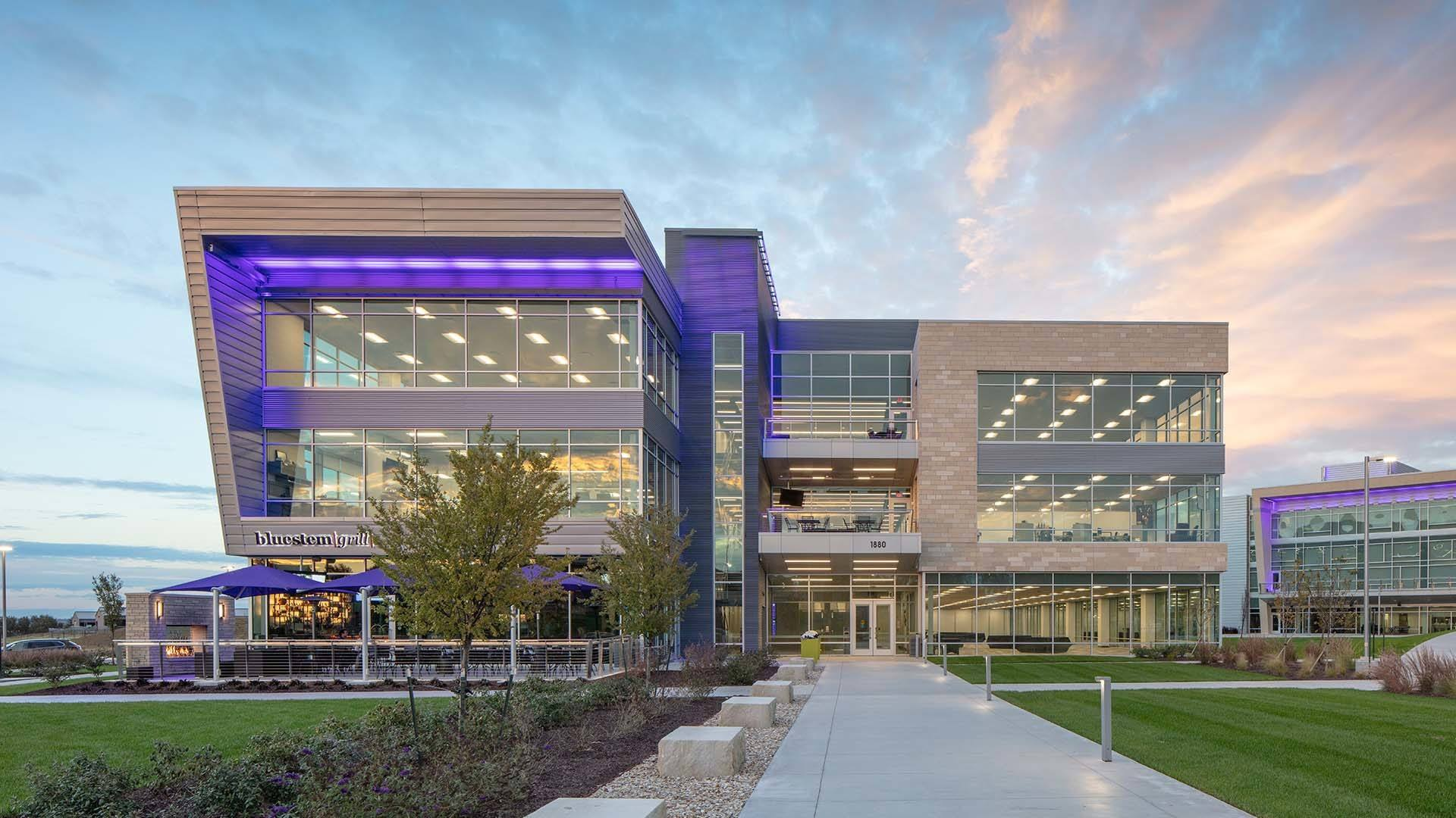 Front of K-State Office Park Building