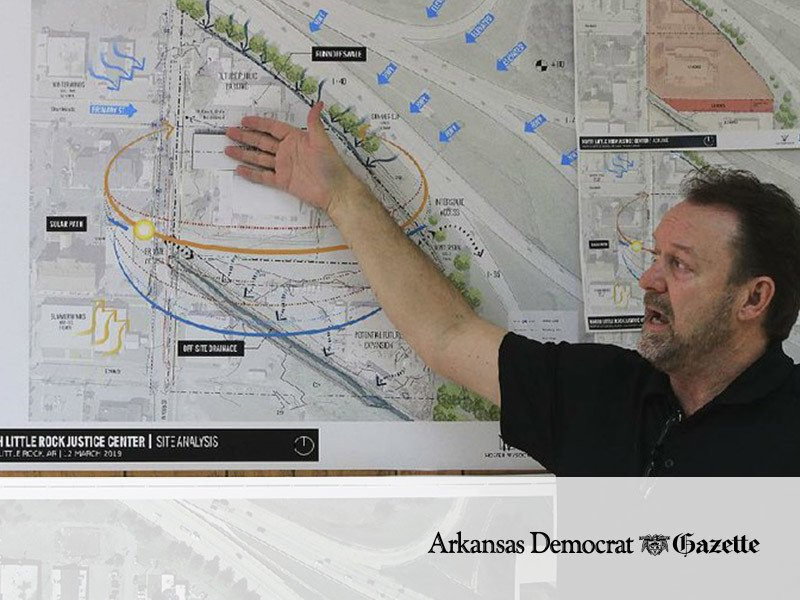 Designers offer peek at North Little Rock police, courts plan
