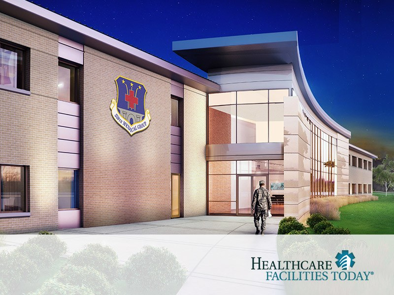 Joint Base San Antonio-Lackland Reid Health Services Center designed medical clinic awarded LEED Gold