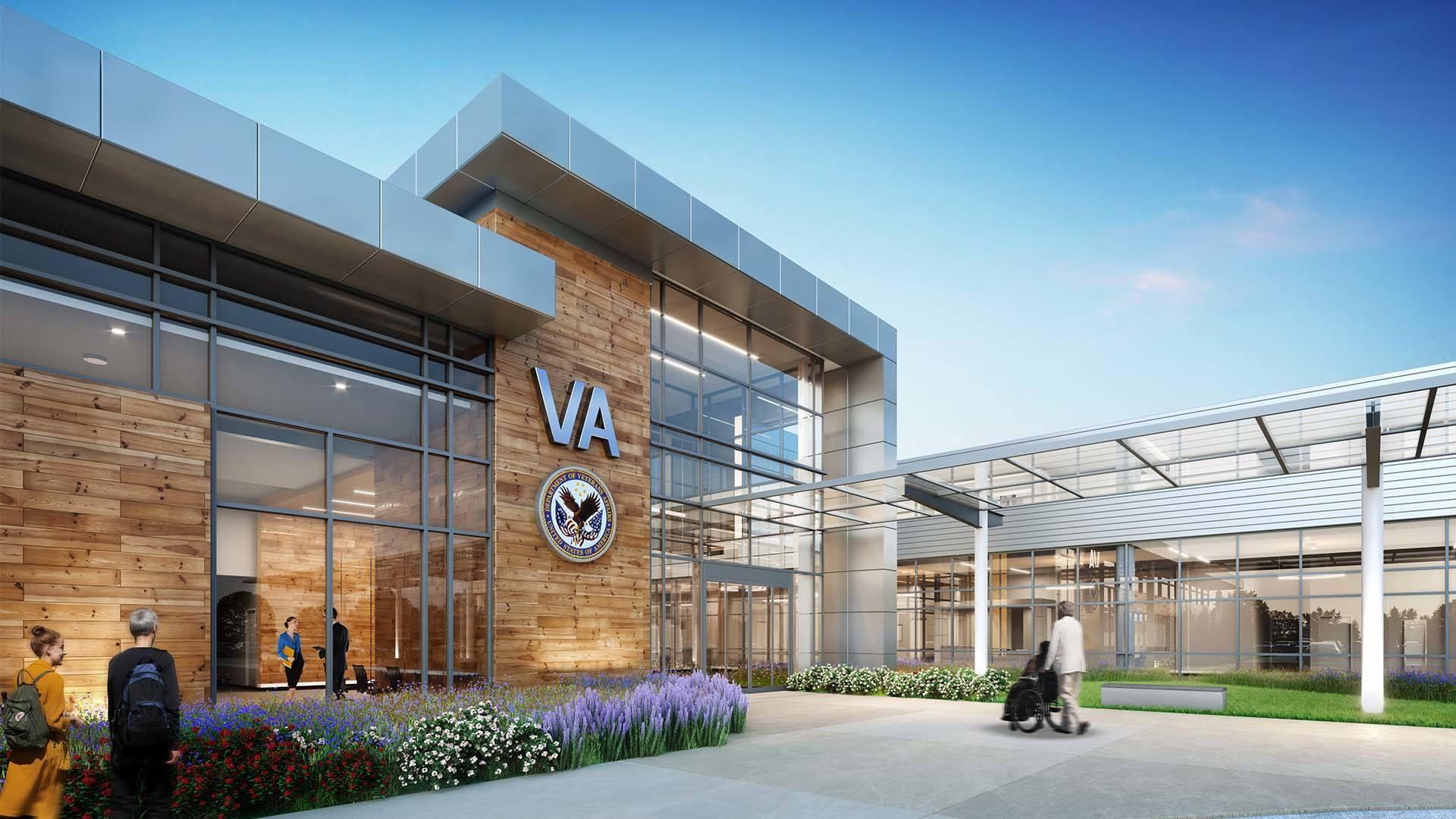 VA Chattanooga Main Entry
