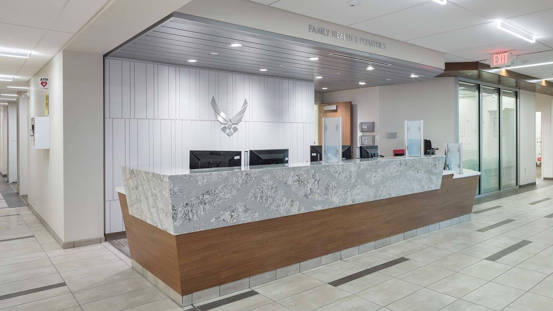 Whiteman Family Health Lobby