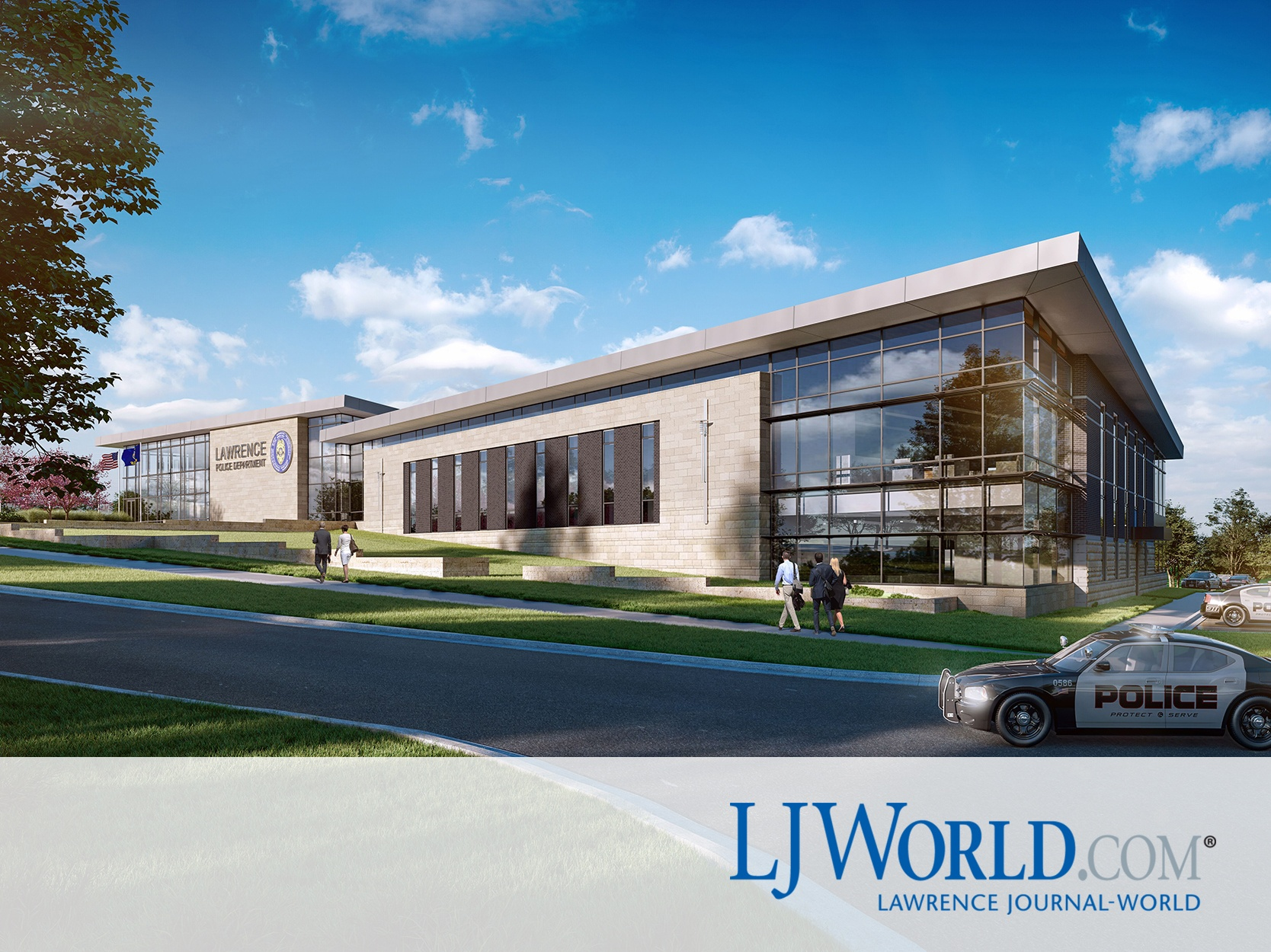 Lawrence HQ ground breaking announcement