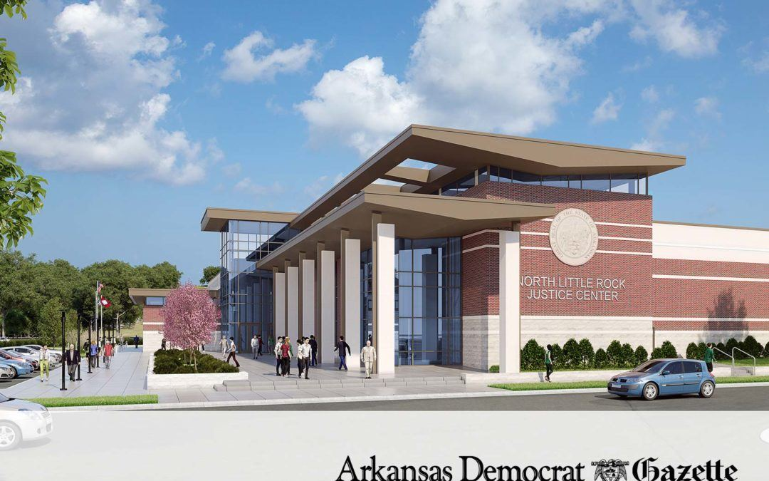 Officials get look at North Little Rock police complex