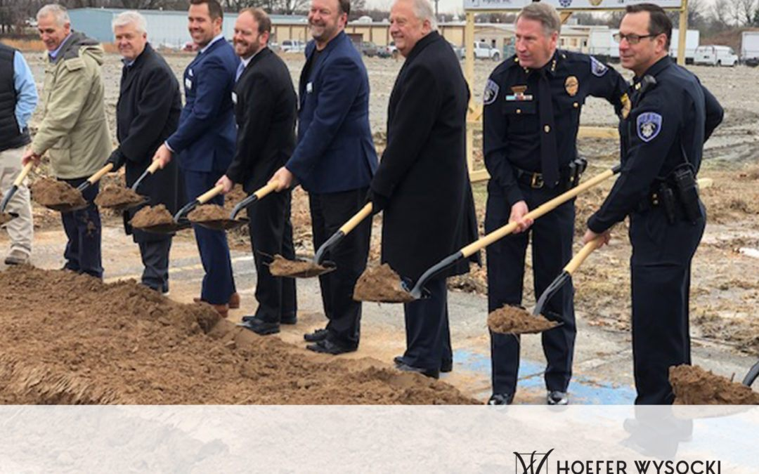 North Little Rock Justice Center Groundbreaking