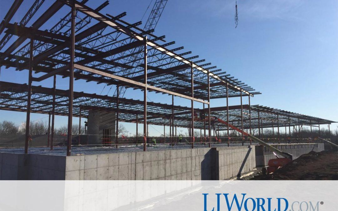 Construction on Lawrence's new $19.5M police headquarters hits halfway point