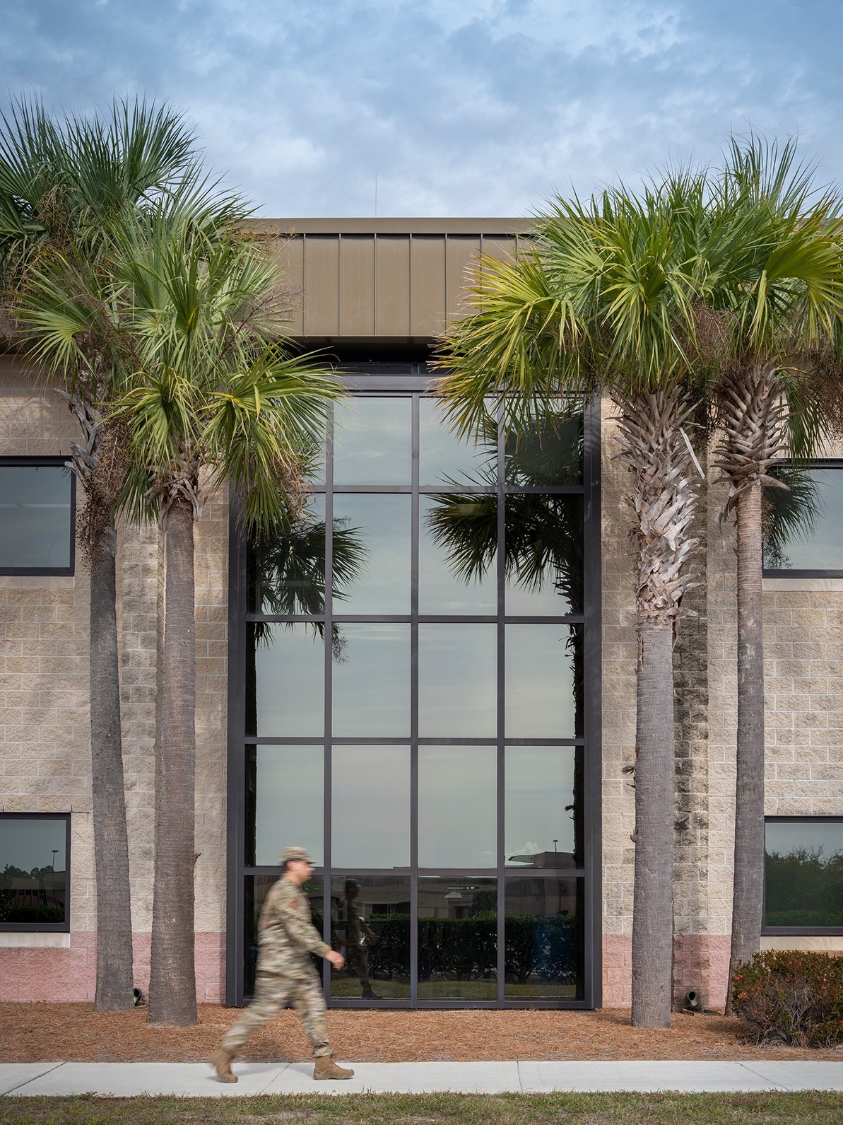 Exterior of Hurlburt Field Clinic