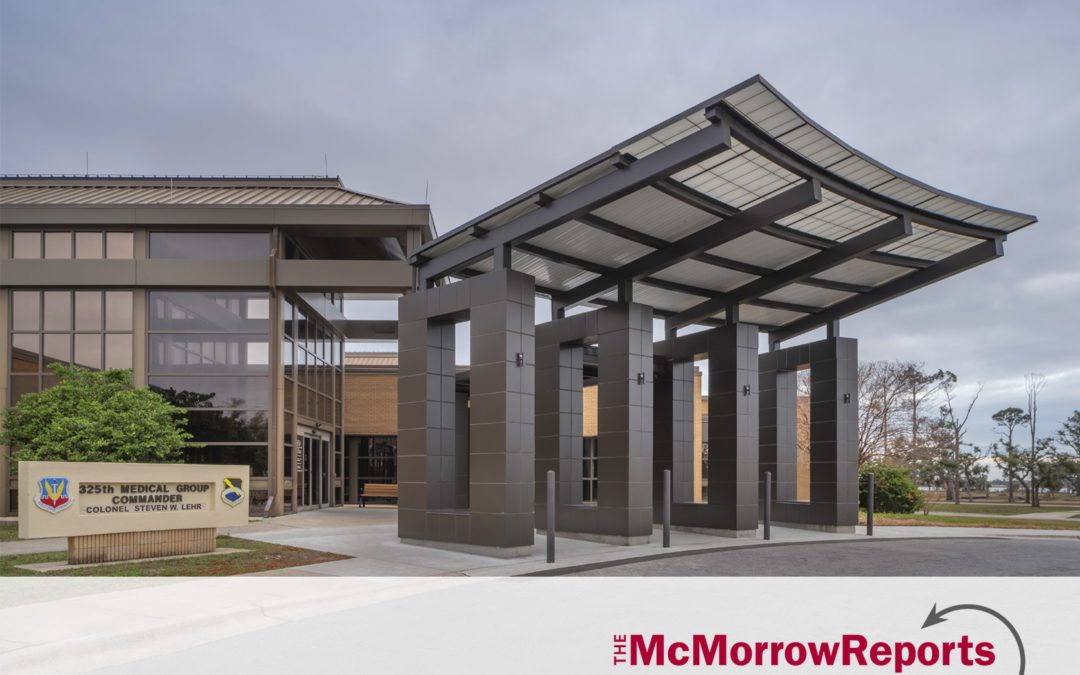 Tyndall Air Force Base medical and vet facilities awarded LEED Silver