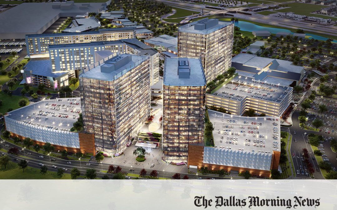 High-rise office campus is in the works for $1.5 billion Grandscape project
