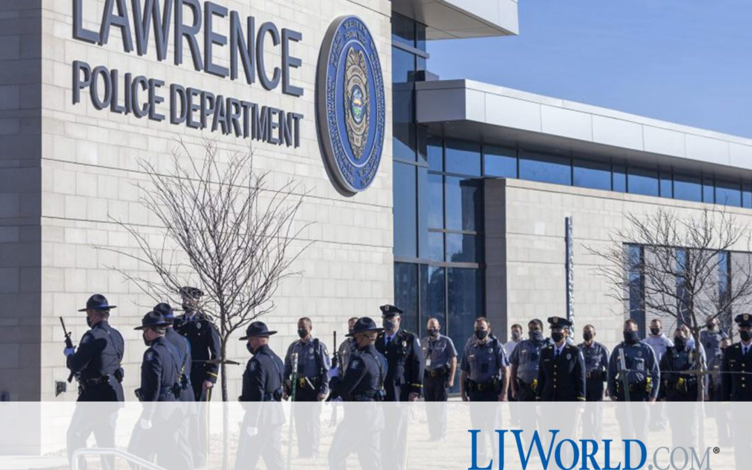 Lawrence police department marks 'historic occasion' with opening of its nearly $20M headquarters