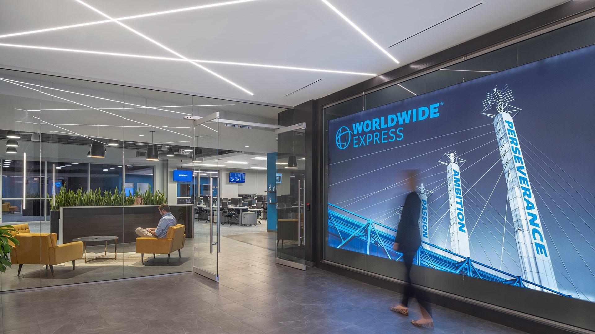 Worldwide Express Interior