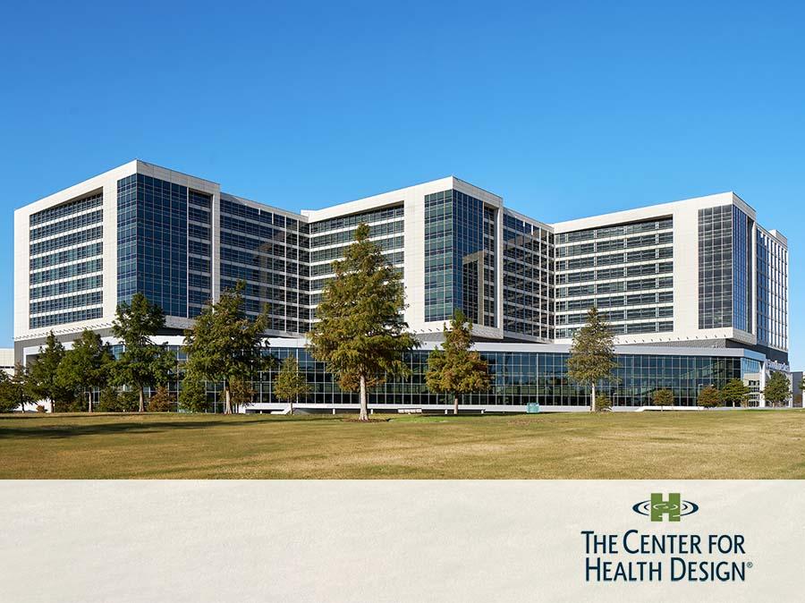 UT Southwestern Clements University Hospital Healthcare Environment Award Winner